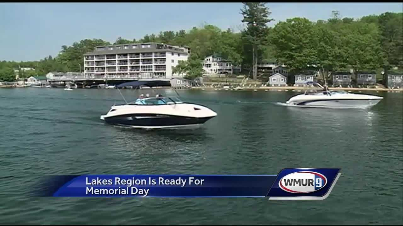 Businesses in the Lakes Region were ready for an influx of visitors over the Memorial Day weekend.