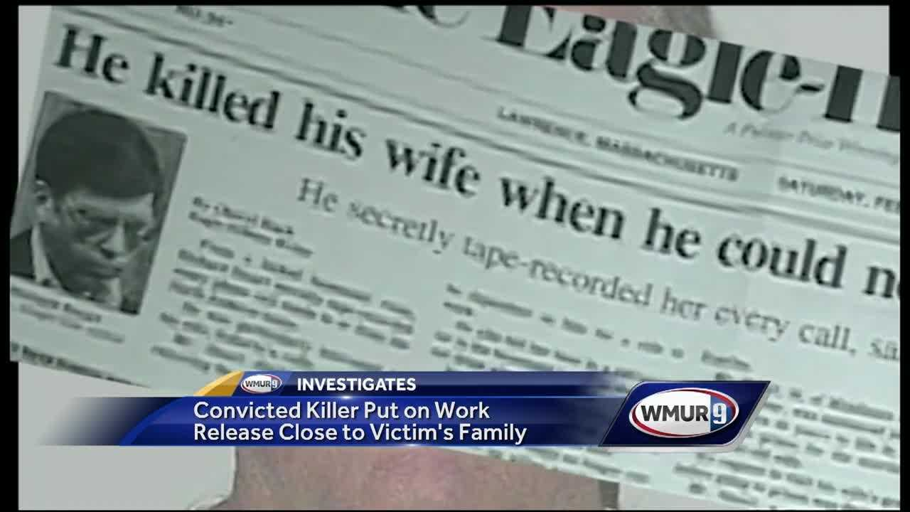 The family of a woman killed in New Hampshire 25 years ago said they are stunned to learn just how close they have been to her convicted killer.