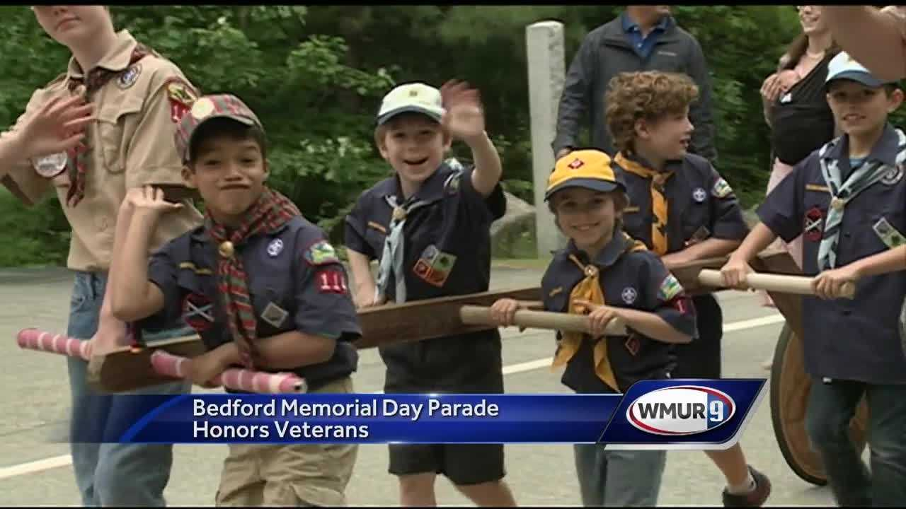 In Bedford, many marched to remember the sacrifices veterans have made.