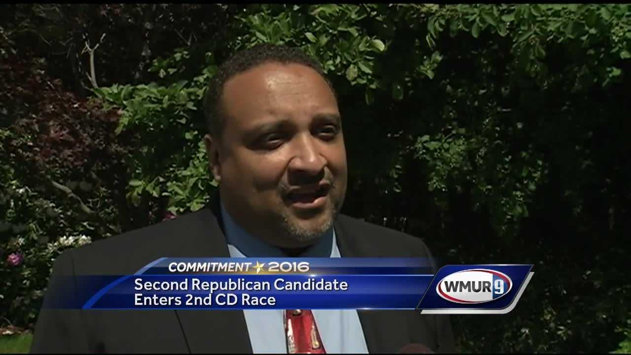 One day before candidates in New Hampshire begin to file paperwork with the secretary of state, a new challenger has emerged on the Republican side of the race in the Second Congressional District.