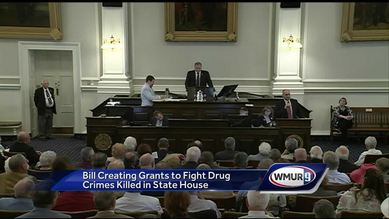 A bill that would have provided nearly $2 million to help fight the addiction crisis is dead.