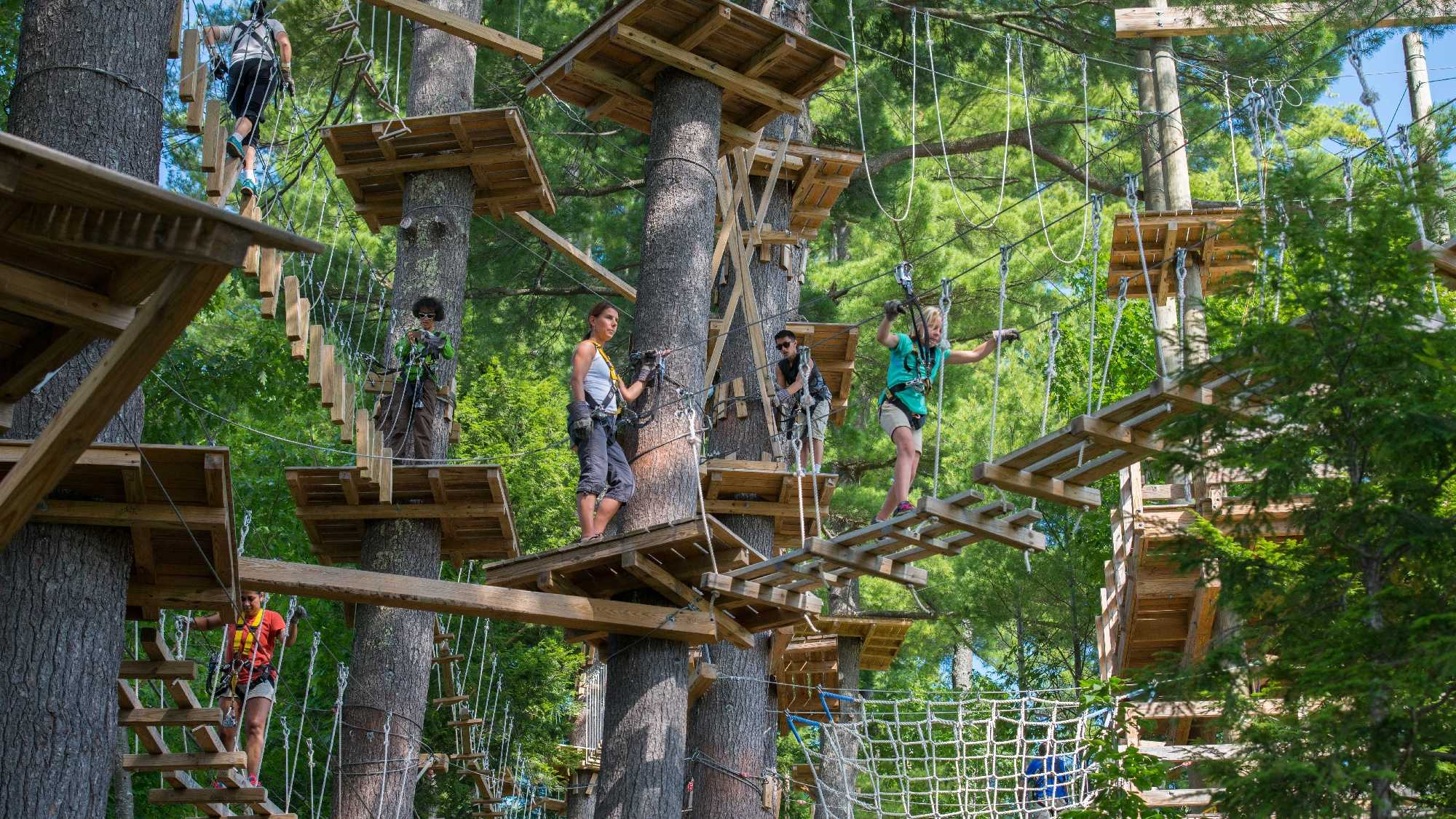 Aerial Adventure Park, North Conway