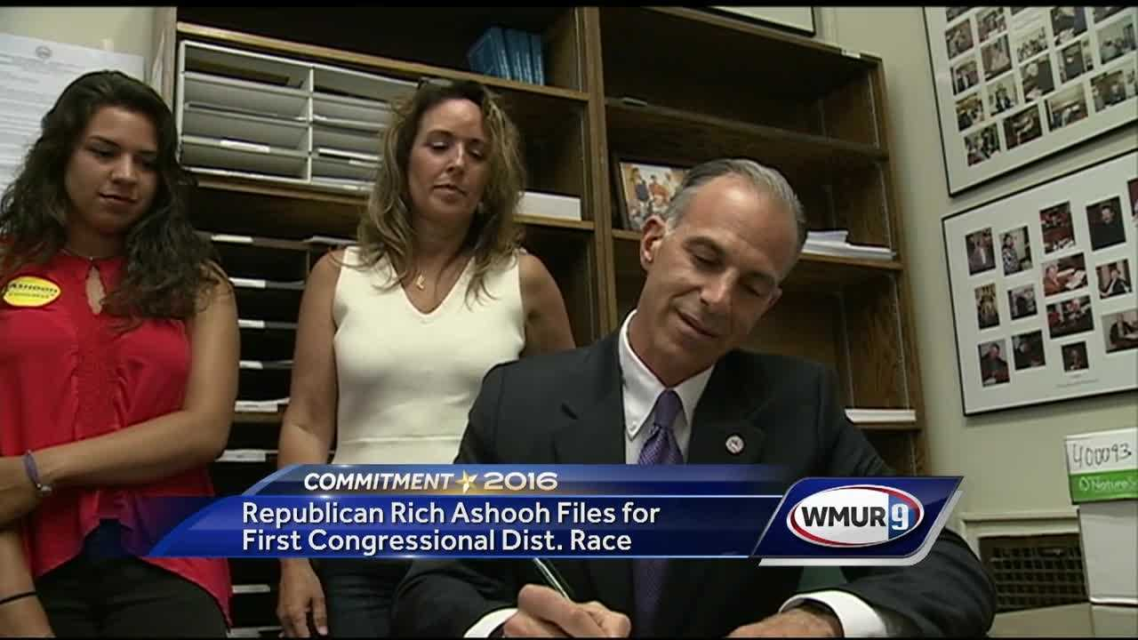 Six years after his first foray into politics, Republican Rich Ashooh is back.