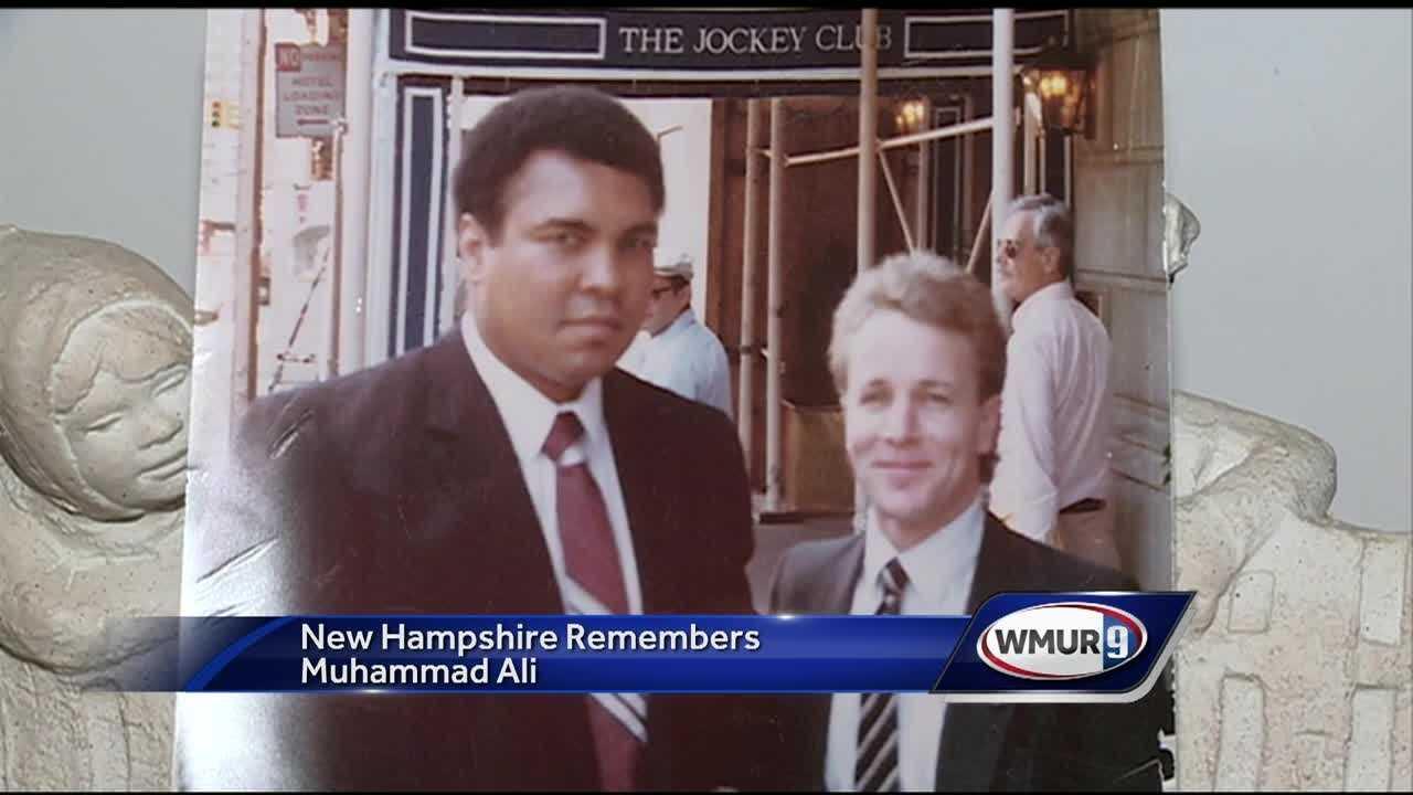 Granite staters remember Muhammad Ali.