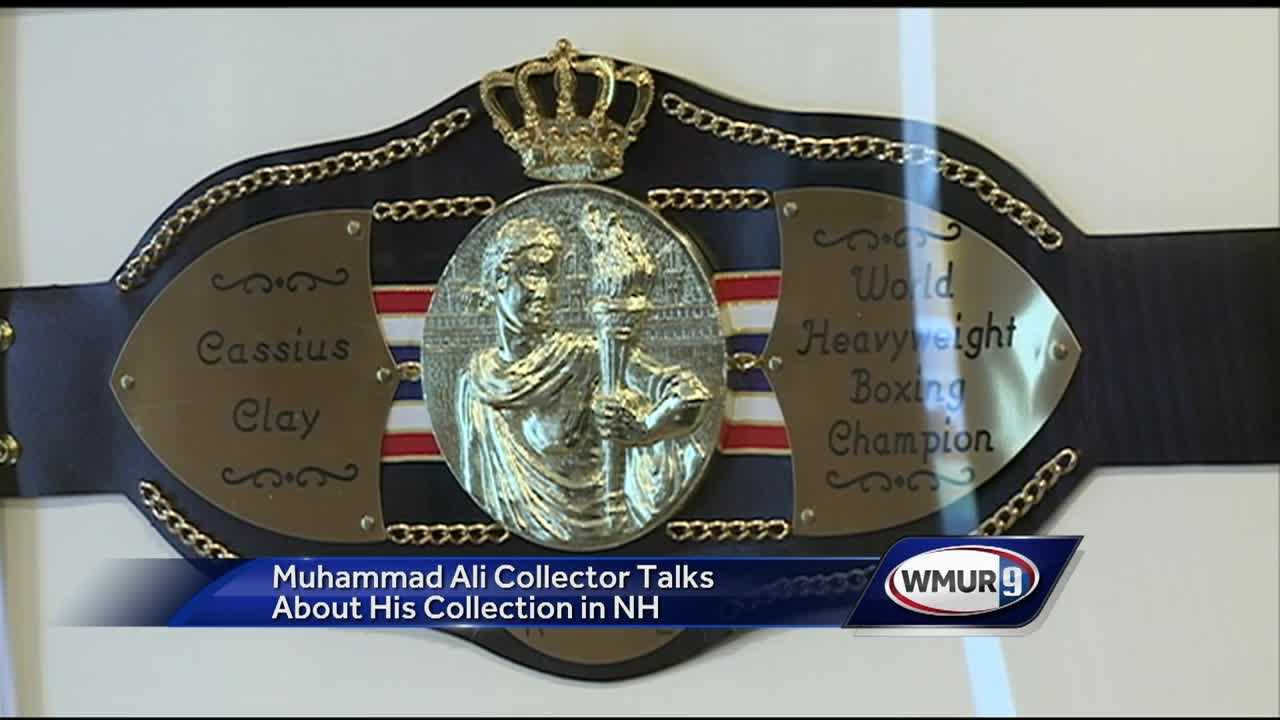 Stephen Singer began collection Muhammad Ali memorabilia 3 decades ago and now the collection is one of the largest of its kind.