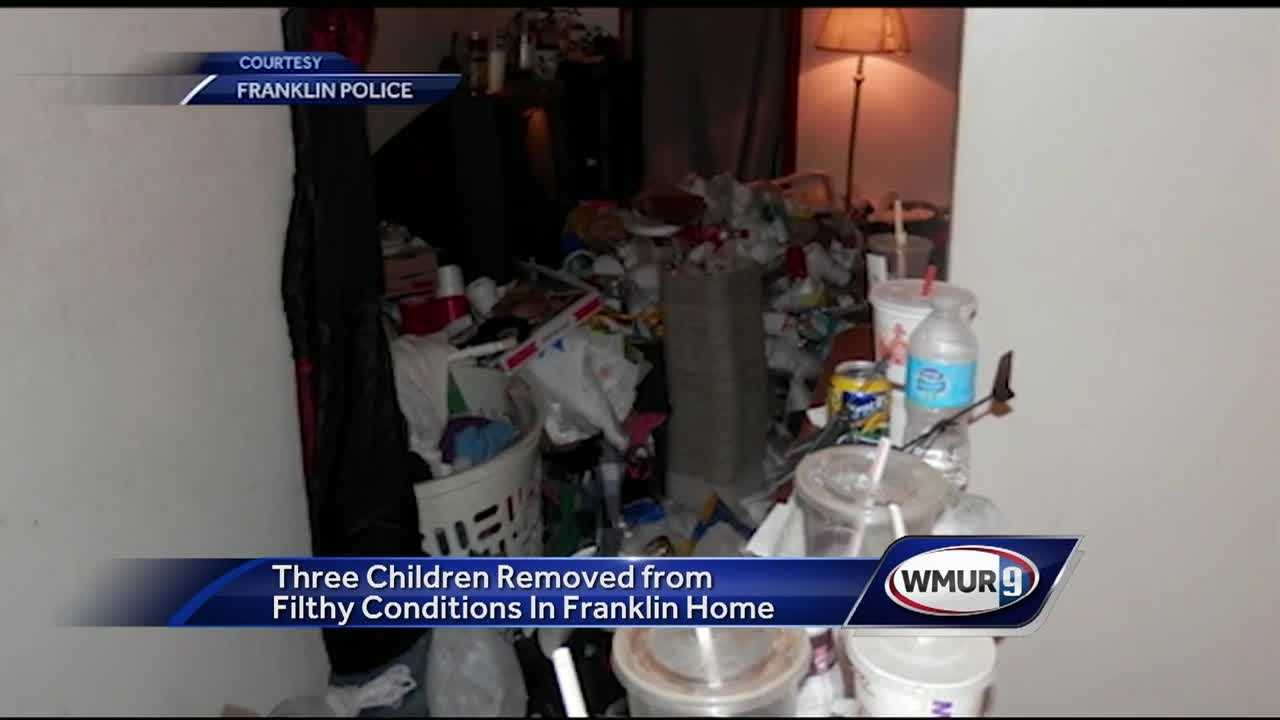 A Franklin home is unoccupied after it was deemed uninhabitable by police.