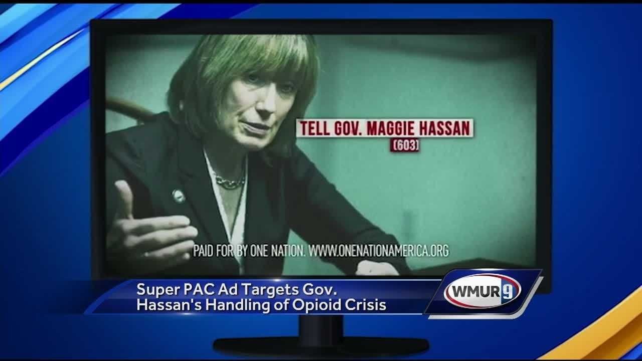 A new ad from a third-party group focusing on New Hampshire's drug crisis is being harshly criticized.