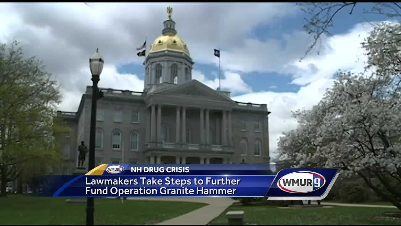 The New Hampshire House is taking special steps to pass a drug enforcement bill that met an embarrassing defeat last week.