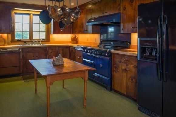 A look at the home's kitchen.