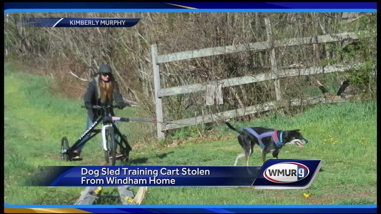 A family in Windham says a custom-built piece of training equipment was stolen from their farm.