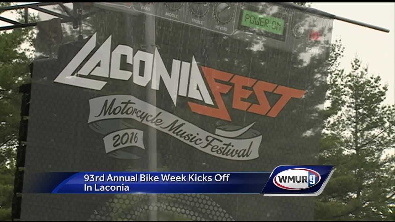 LaconiaFest and Bike Week officially begin today.
