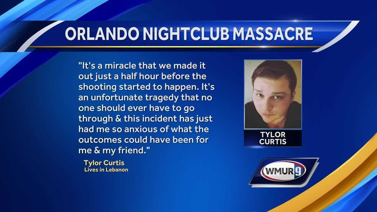 A 22-year-old from Lebanon was inside Pulse nightclub just before Saturday night's massacre.