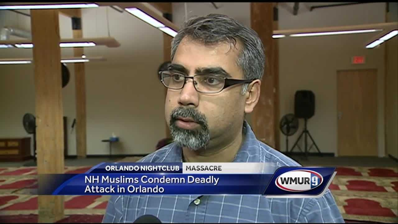 Members of a mosque in Nashua want to remind people that Islam is a religion of peace.