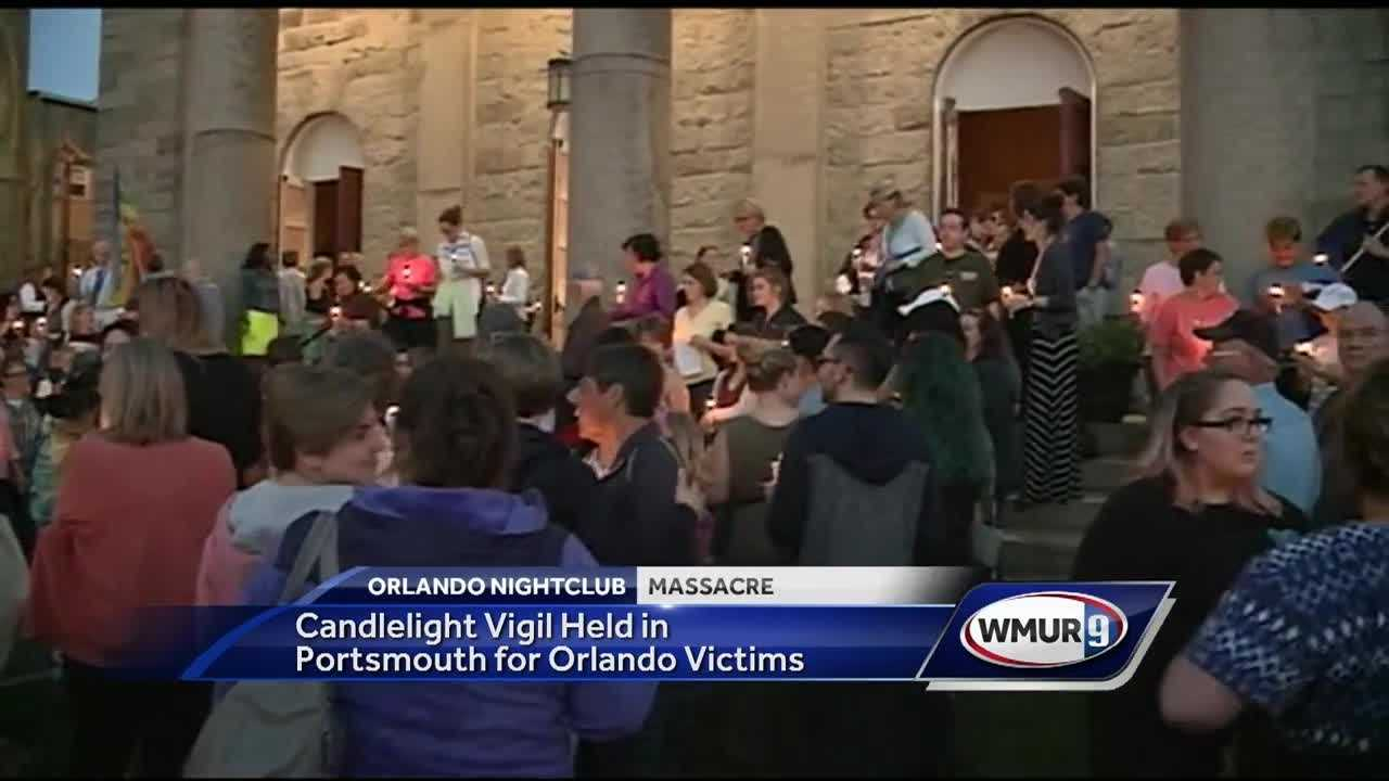 On Tuesday night, over a hundred people came together on the Seacoast to remember the lives of those killed in the Orlando nightclub massacre.