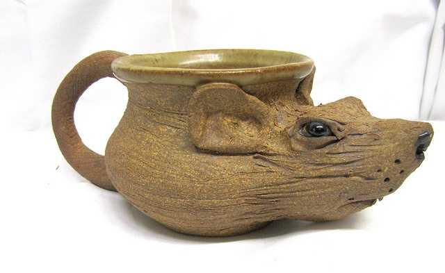 A rat mug