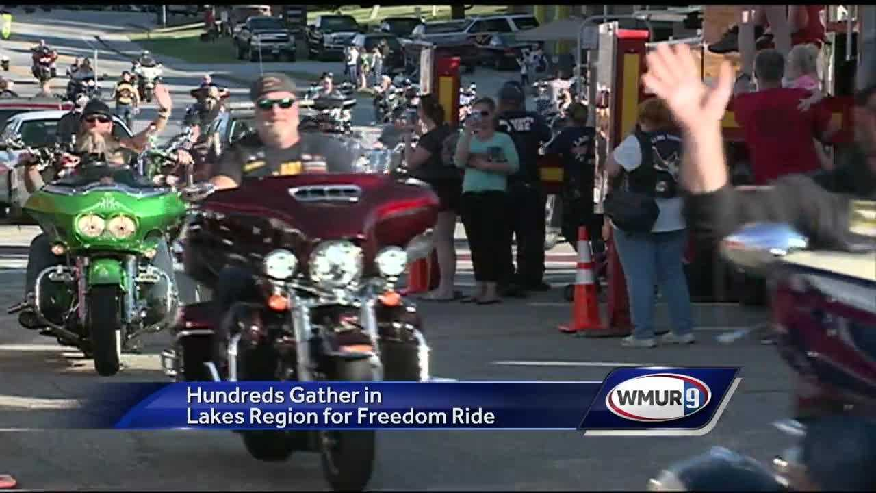 More than 500 people took over the streets of Meredith Thursday in the 23rd Rolling Thunder Freedom Ride.