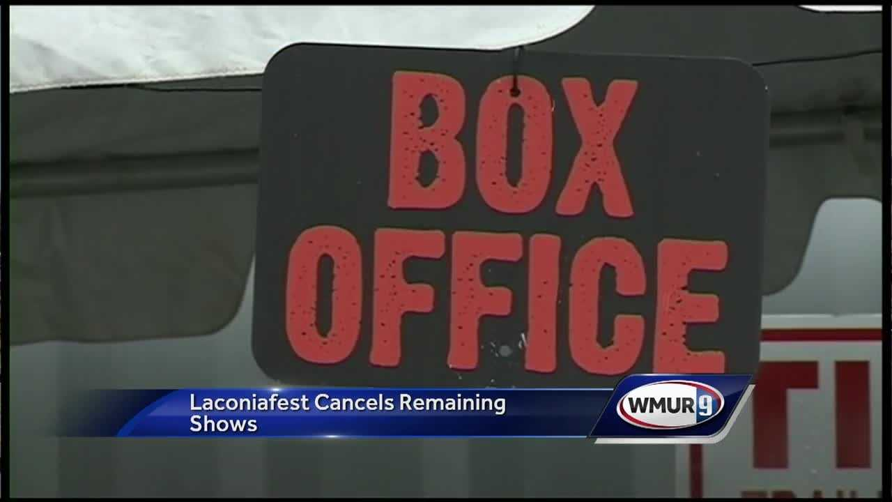 LaconiaFest was cancelled after several bands cancelled and conflicts with the City.