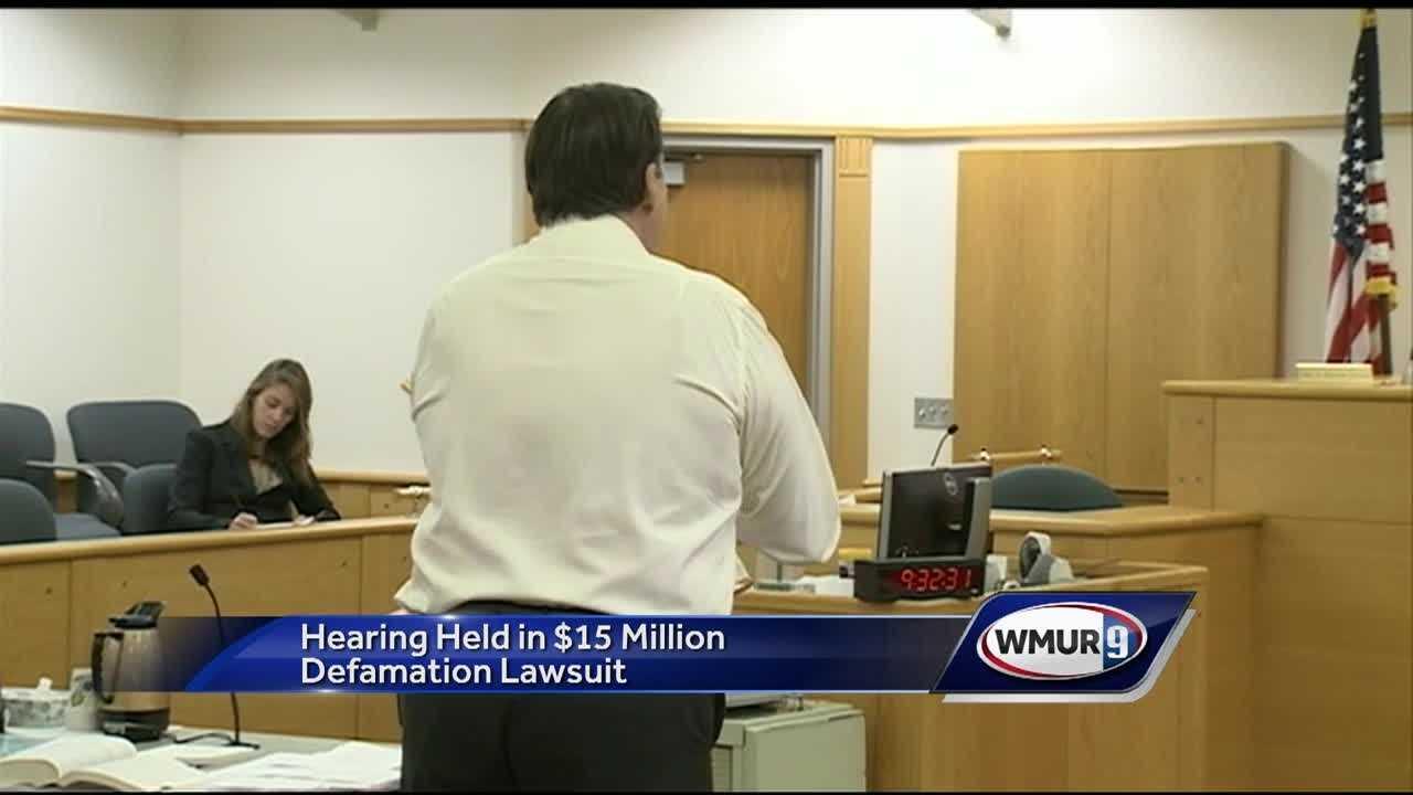 A multi-million-dollar defamation lawsuit is moving forward in Rockingham County.