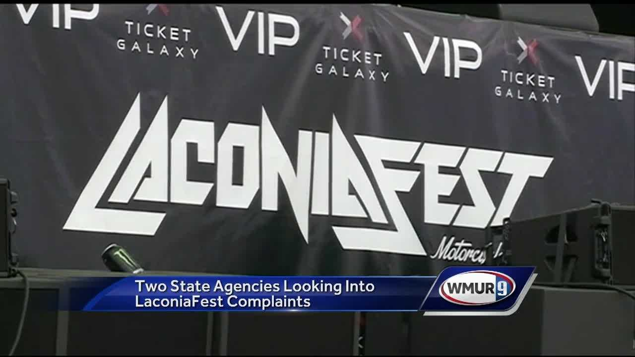 Two state agencies are looking into a Laconia music festival that abruptly ended days early.