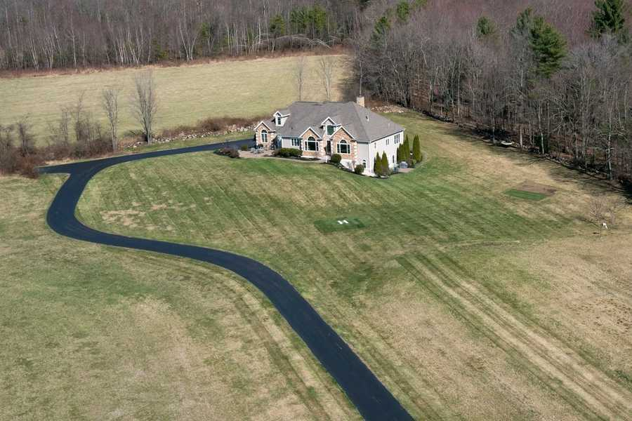 Here's an aerial shot of the estate.