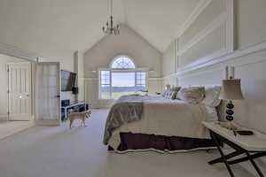 The home has a total of 5 bedrooms.