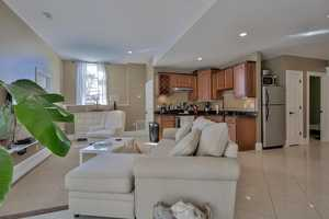 The home has a separate in-law living area.