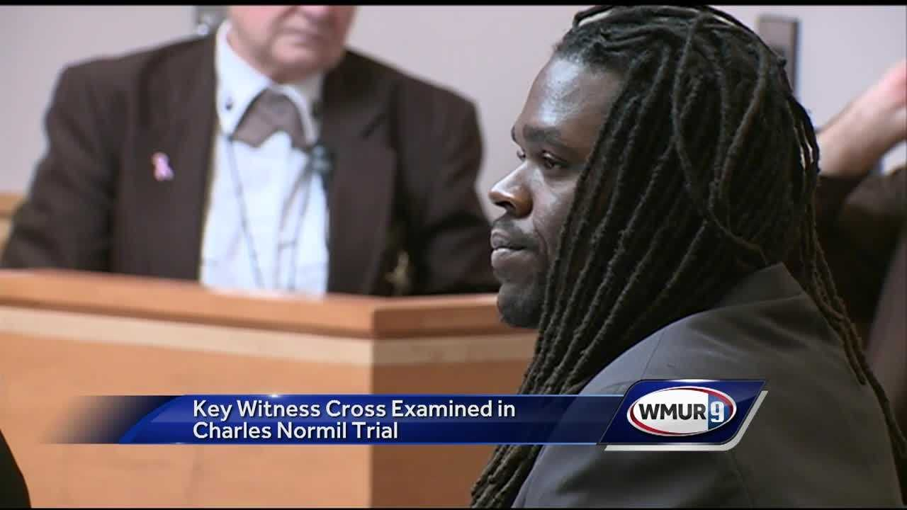 A key witness in the trial of a man accused of violently attacking a couple during a Bedford home invasion continued his testimony Friday.