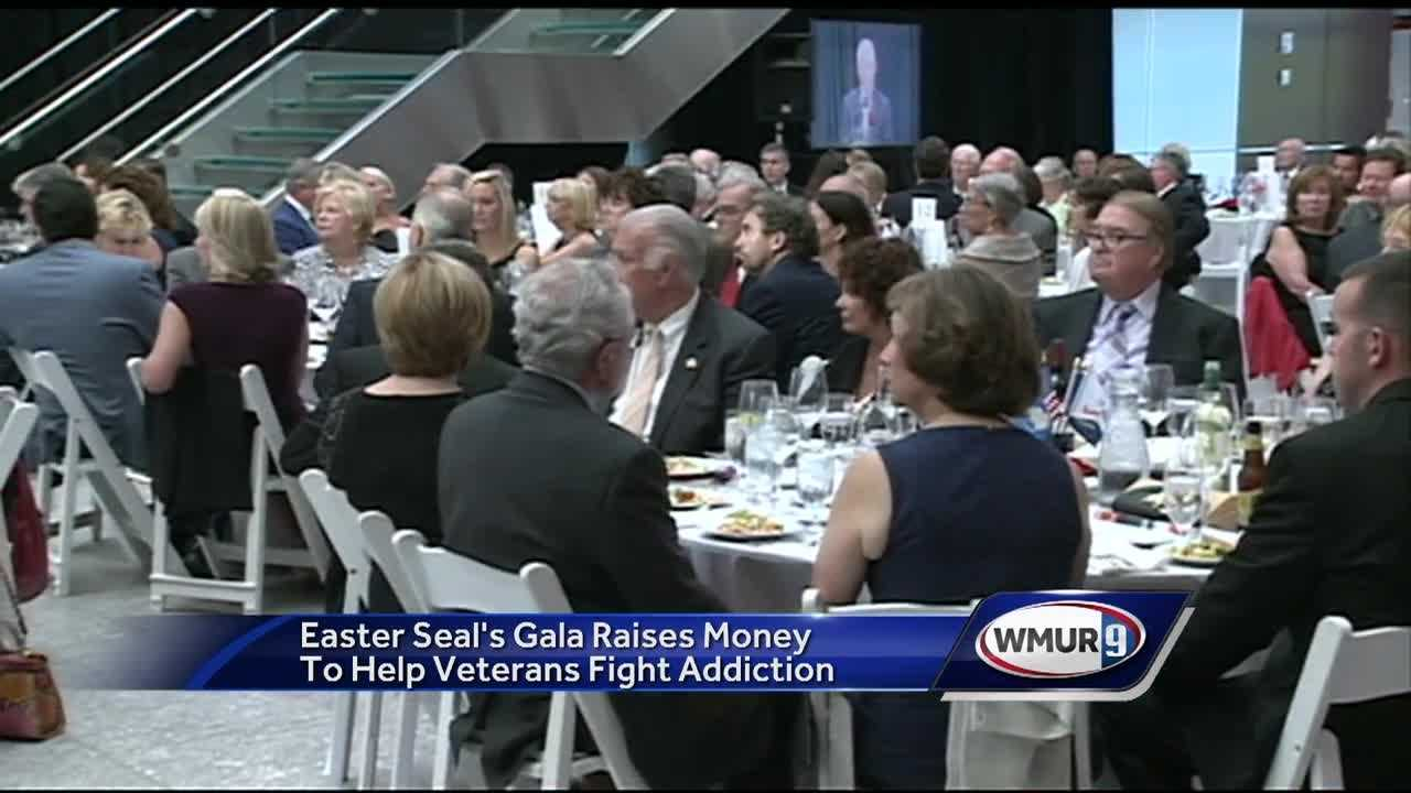 Easter Seal's hosts Veterans Count gala to raise money for program helping veterans battle addiction.