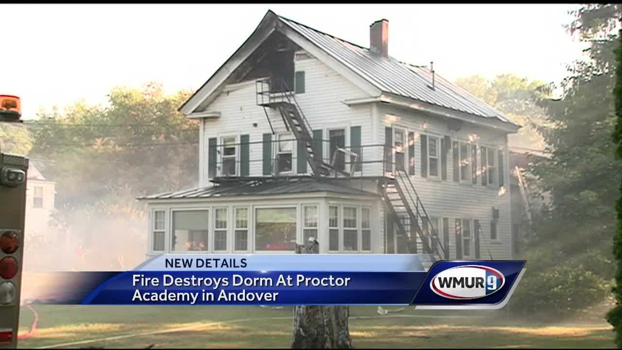The fire that destroyed a dorm at Proctor Academy Saturday is under investigation.