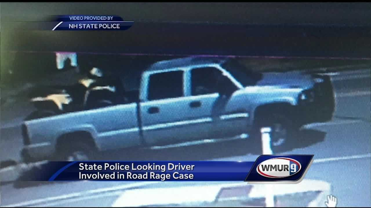 State police hope new surveillance video will help them find the driver of a pickup truck who was involved in a possible case of road rage that ended when a convertible crashed on Route 16 in Rochester.