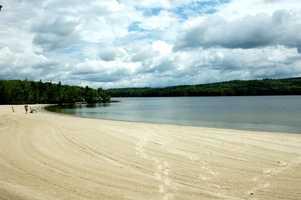 5. Sunapee State Beach in Newbury