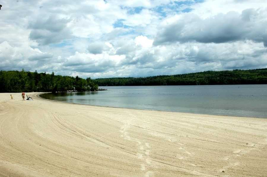 5. Sunapee State Beach in Newbury