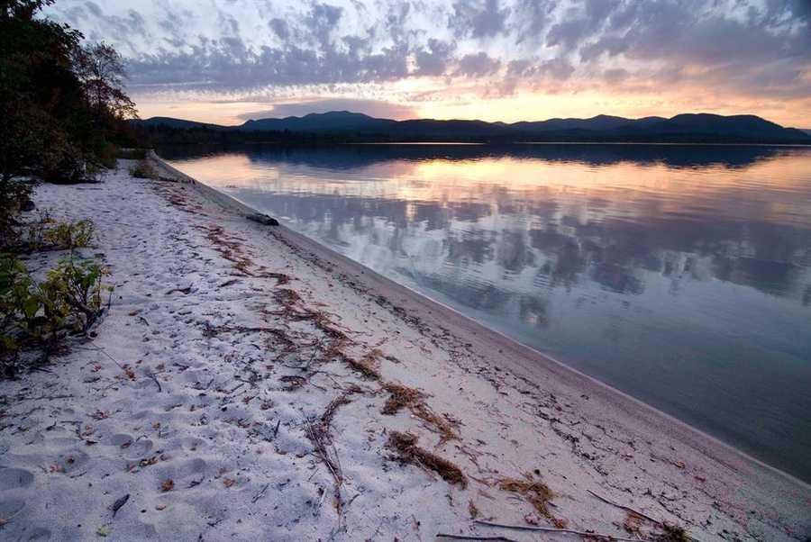6. Ossipee Lake in Carroll County