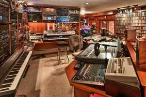 Another look inside the studio.