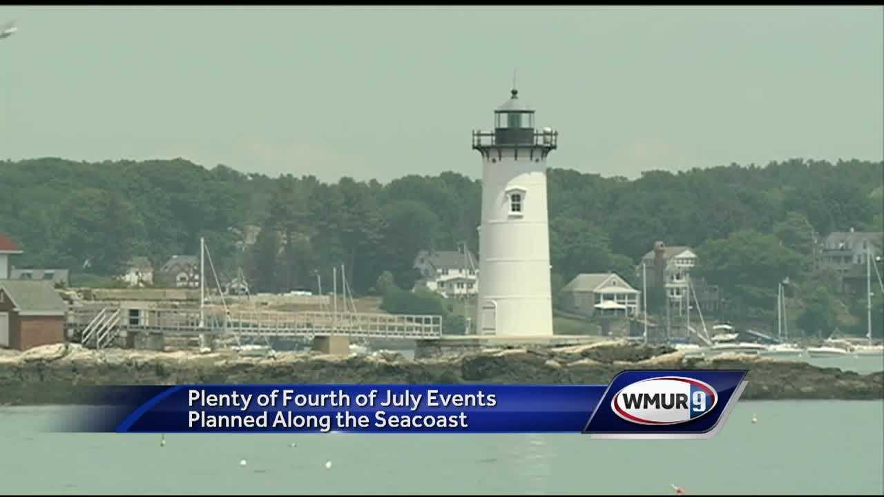 If you haven't made plans yet for the Fourth of July weekend, there are plenty of things to choose from in New Hampshire's Seacoast region.