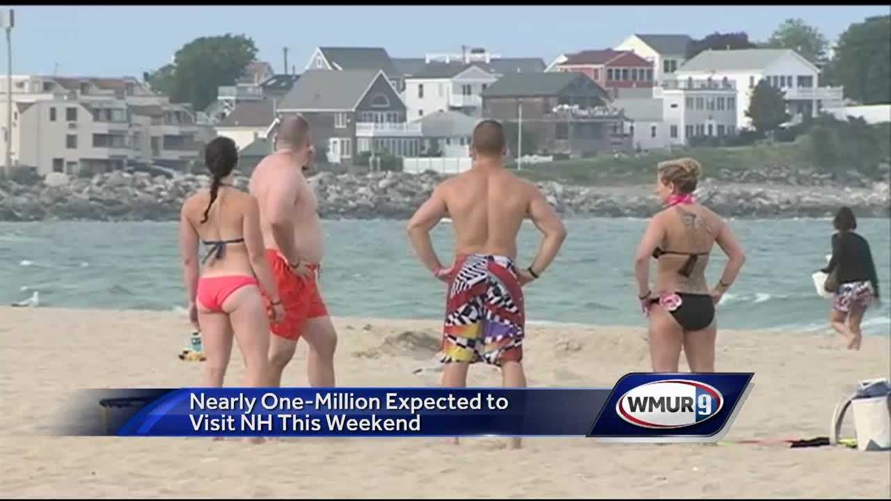 Hampton Beach gets ready for one of the busiest times of the year with the 4th of July approaching.