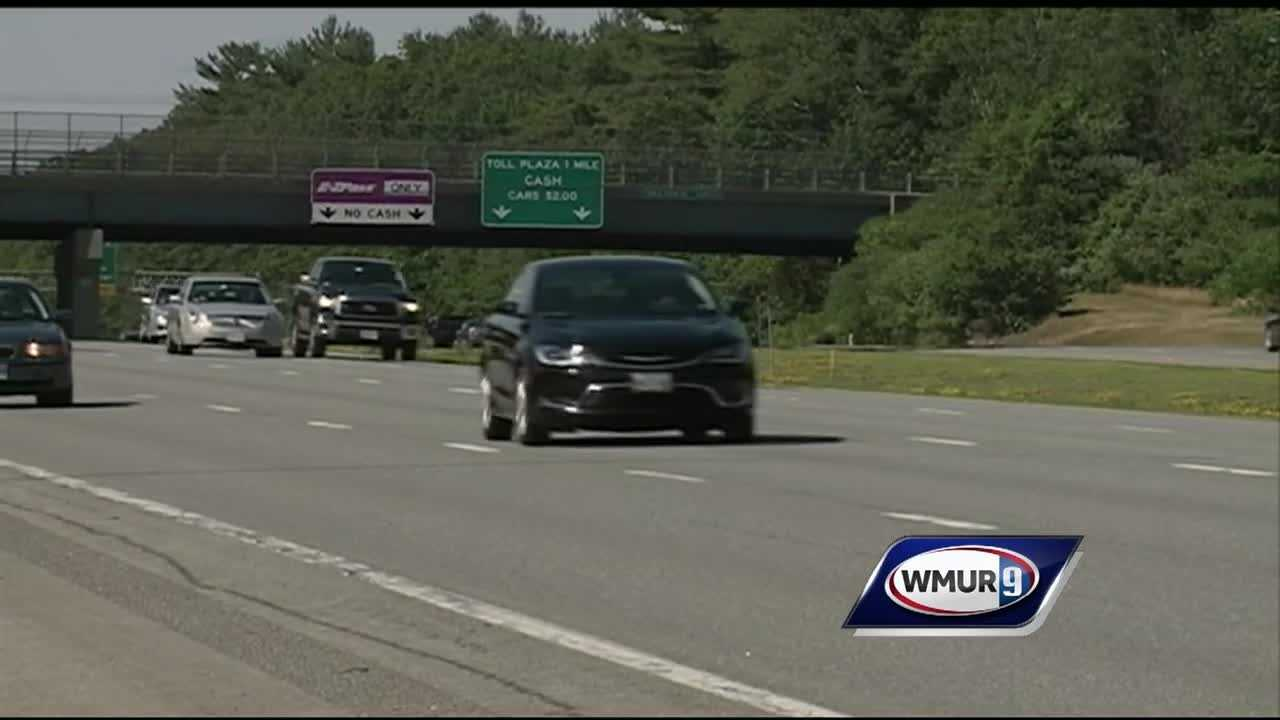 The end of the holiday weekend brought much lighter traffic than the start