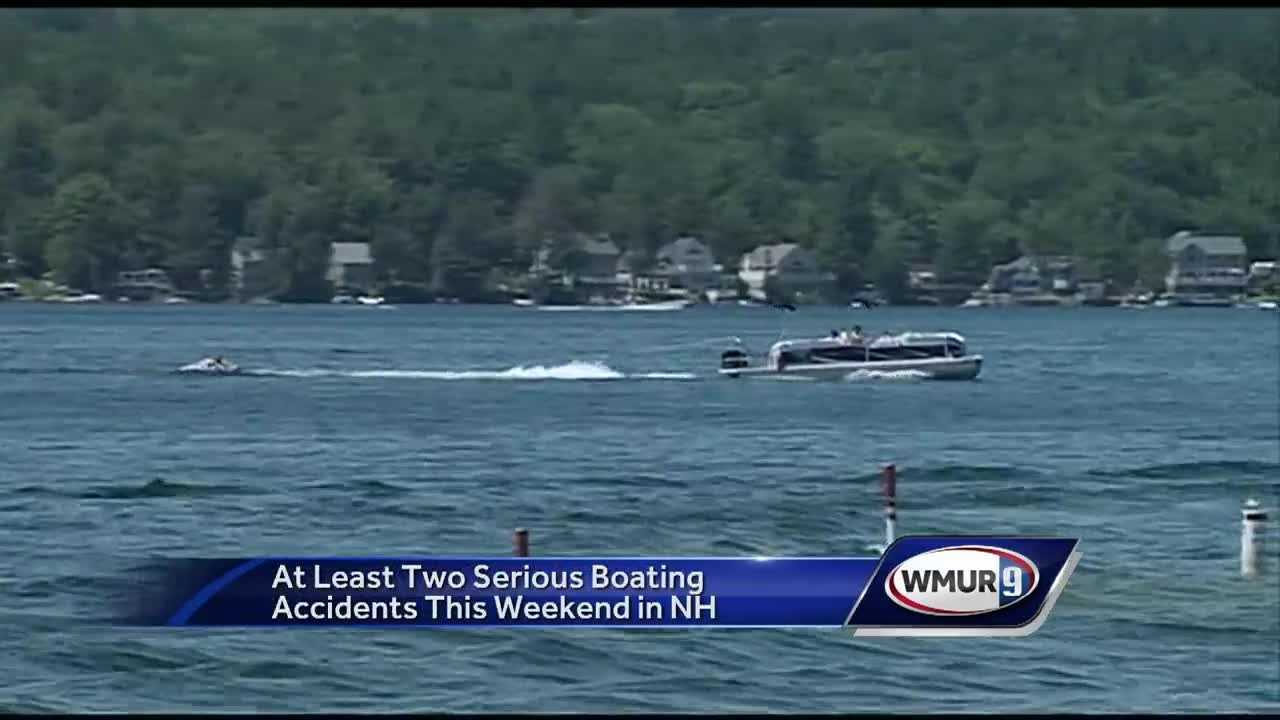 Marine Patrol is warning boaters to be safe on the water