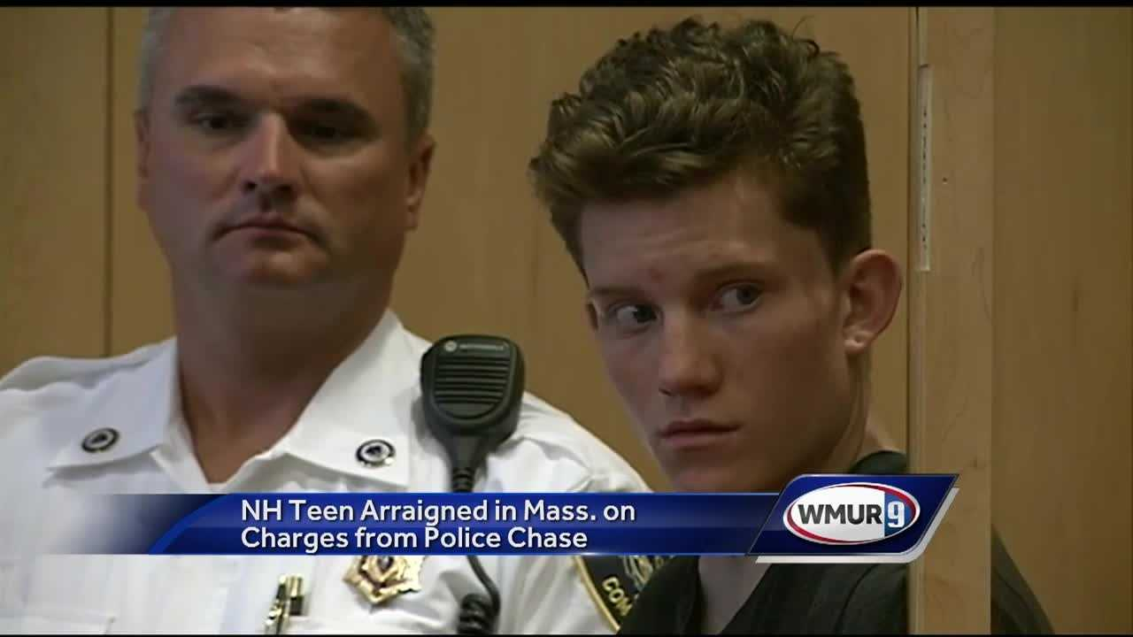 A New Hampshire teenager is accused of leading police from two states and multiple towns on a chase in a stolen truck.