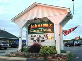 T-7. Johnson's Seafood and Steak in New Durham