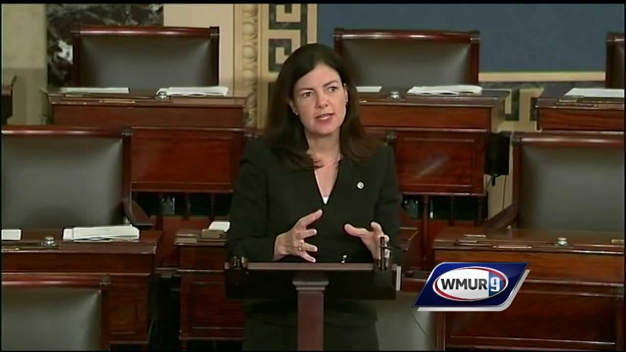 U.S. Sen Kelly Ayotte, R-N.H., is facing criticism over thousands of dollars in campaign contributions from a company that's the focus of several investigations.