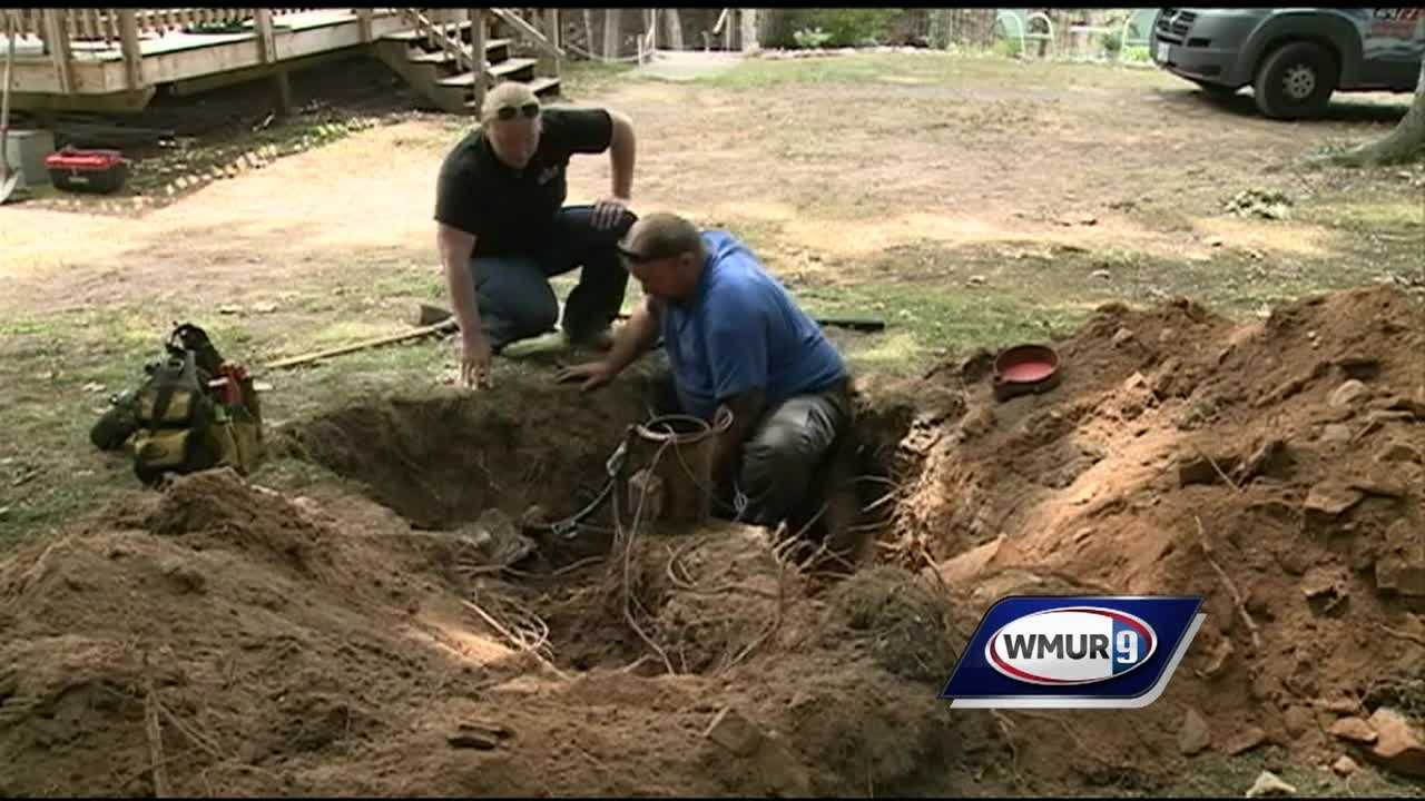 Some New Hampshire homeowners with private wells are having water issues as drought conditions persist, especially in the southern part of the state.