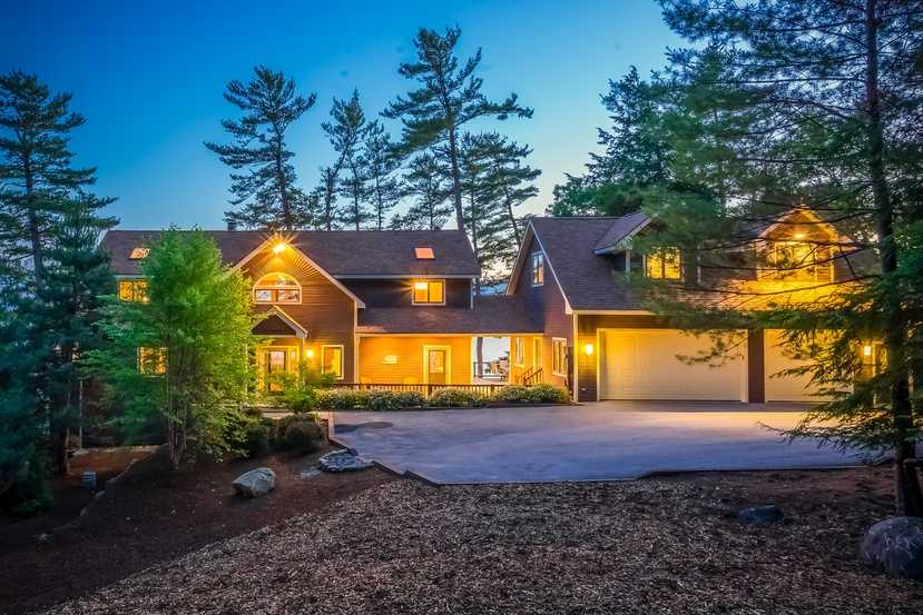 The Moultonborough home at 19 Alderberry Lane is on the market for $1,850,000. View a complete listing here.