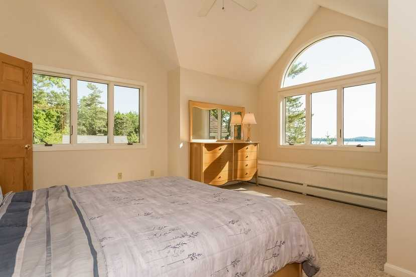The home has a total of suite-style bedrooms.