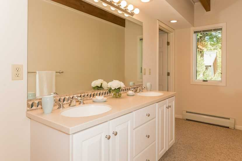 Here's a look at one of the home's 5 full bathrooms.