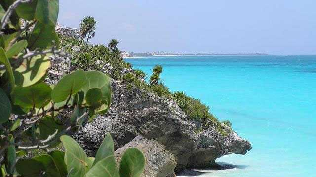 Tulum Mexico beach vacation