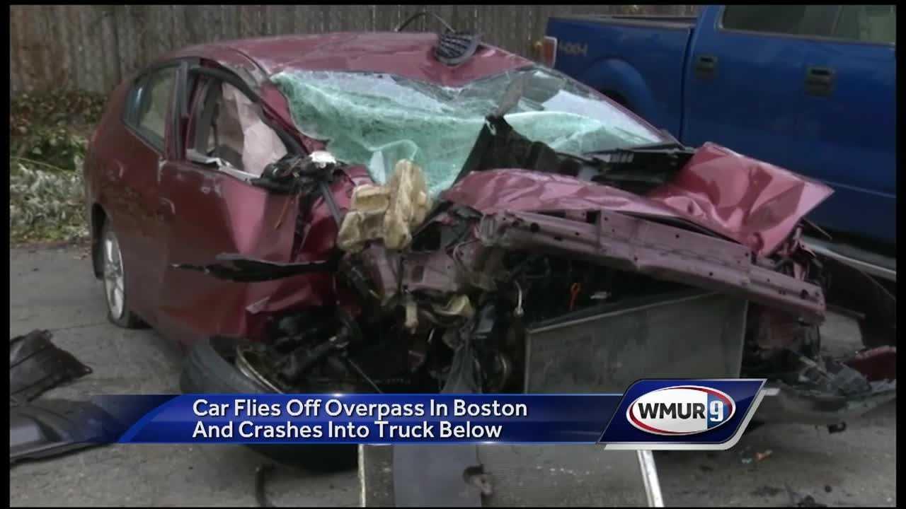 Mass - car off overpass