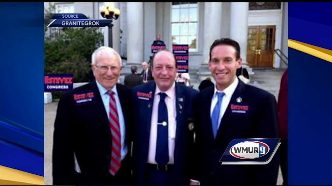 A Nashua state representative who is running for Congress is coming under fire for altered pictures posted on social media.