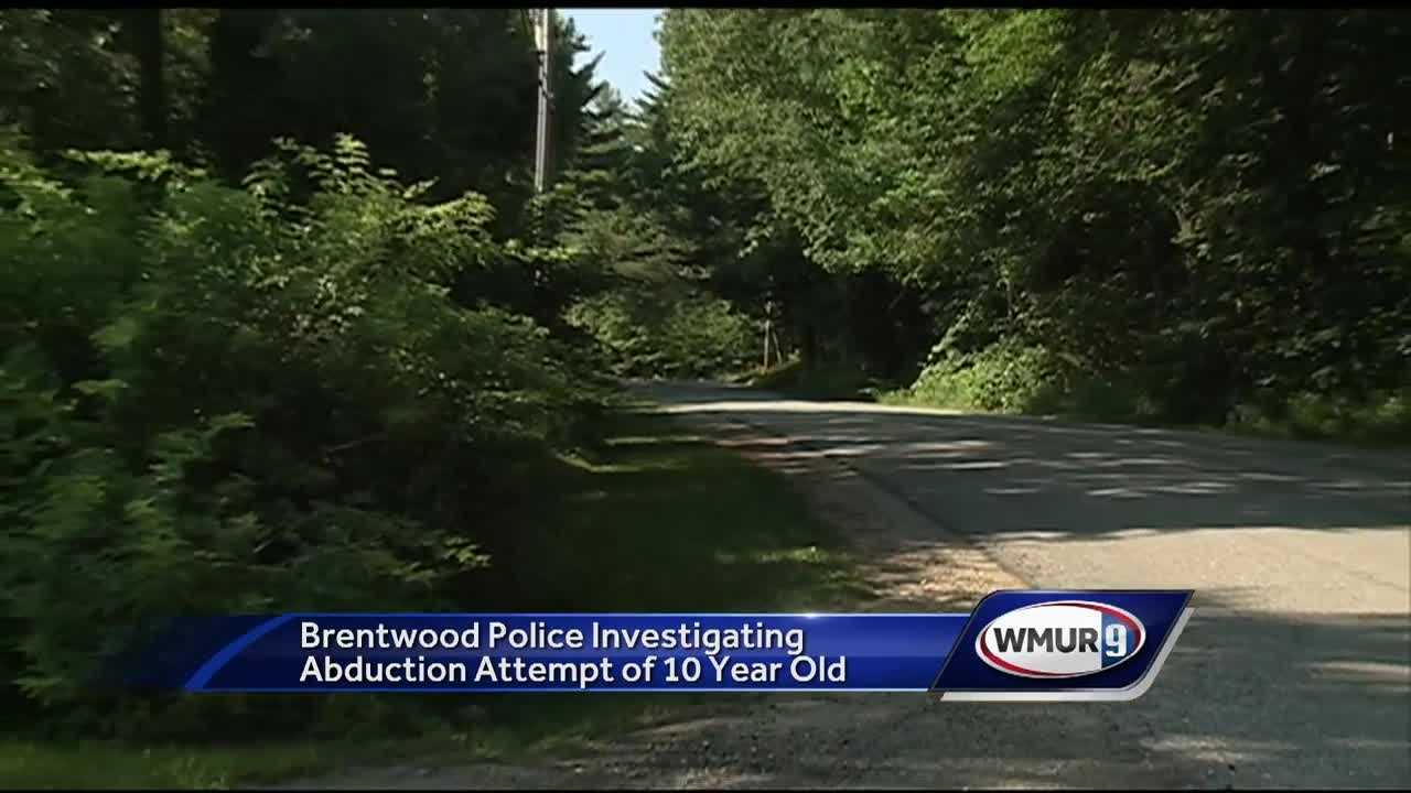 Police in Brentwood said they are looking for a man who tried to abduct a 10-year-old boy.