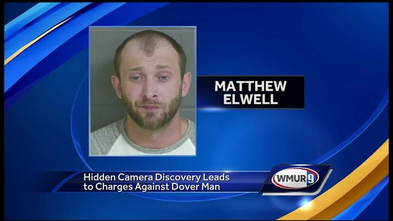 Police were able to identify Matthew Elwell because he recorded himself setting up the camera.